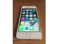 White/silver iphone 5 ( Unlocked, delivery, more phones)