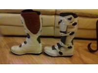 Wulf motor cross boots