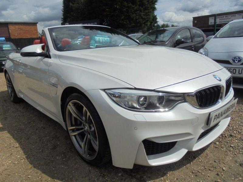 2015 15 BMW 4 SERIES 3.0 M4 2D AUTOMATIC 426 BHP PEARL METALLIC WHITE FINANCE WI