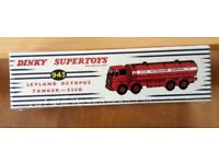 NEW BOXED DINKY SUPERTOYS ESSO LEYLAND TANKER LORRY CAN POST