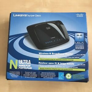Linksys Wireless n Router with in box