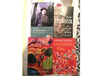 Selection of Books suitable for English GCSE