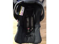 New/Mint condition Graco Car Seat Junior Baby Group 0+ Birth (fits graco Evo Stroller) BOXED