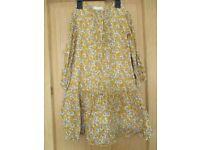 Zara Girls dress top age 9-10 years