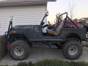 1976 Jeep CJ seven