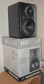 Mackie HR824 Mk.II High Resolution Studio Monitors (Pair, Black)