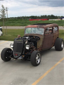 1934 Ford Tudor Rat Rod
