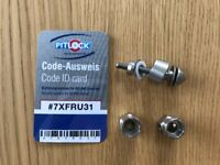 Pitlock Security Seat Post Bolt and Key
