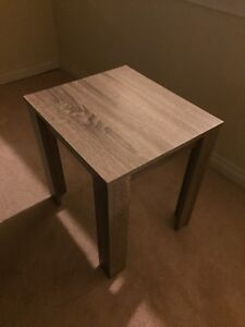 TWO NEW WOODEN SIDE TABLES