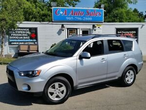 2010 Mitsubishi Outlander ES ALL WHEEL DRIVE!LOW KM ONE OWNER
