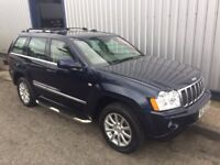 JEEP GRAND CHEROKEE 3.0 CRD V6 Overland Station Wagon 4x4 5dr Auto (blue) 2006