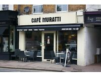 Daytime Cafe with excellent scope for evening trade - for sale as a going concern