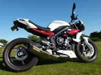 2015 (15) Triumph Street Triple R ABS in immaculate condition