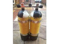 Faber 12 litre bottles with sano sub mainfold