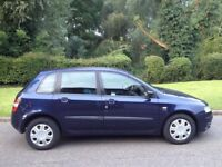 FIAT STILO 1.6 2003 5 MONTHS MOT AIR CON -CD - A VERY CLEAN CAR 1 OWNER SINCE 2009 ( NOT A PUNTO)