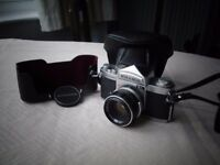 MIRANDA SENSOMAT RS and lens, with case. A rare opportunity to buy this 35 mm camera and lens.