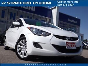 2013 Hyundai Elantra GL | BLUETOOTH | HEATED SEATS | CRUISE |