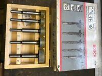 Set new BOSCH hole boring set ,tct cutters