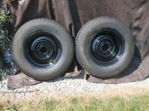 14in. - 5 hole Travel Trailer Rims