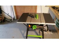 Evolution Fury 5-S 255mm Multipurpose TCT Table Saw (230V)