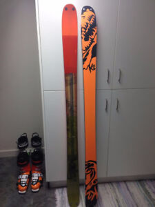 2017 K2 Poachers Downhill Skis
