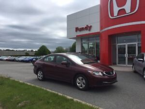2014 Honda Civic LX ONE OWNER , LOCAL TRADE !