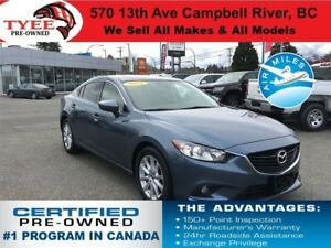 2014 Mazda MAZDA6 GS Heated Seats 1 Owner