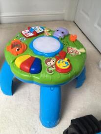 Leap Frog baby toddler activity table