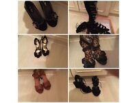 Woman's designers shoes all size 5