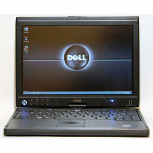 Dell Latitude XT Laptop Tablet Core2 Duo WiFi 3GB RAM 80GB 12.1""