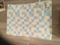 4 Baby Blankets Various Colours and Sizes