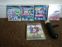Ps3 games dance +controller + fifa15