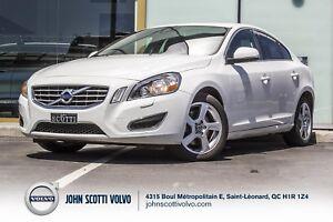 2013 Volvo S60 T5 Certifié 28 Mars 2019 ou 160,000km.