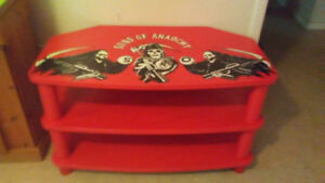 Hobbycraft painted SOA TV Stand.