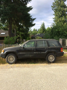 1993 Jeep 4x4  Grand Cherokee limited edition