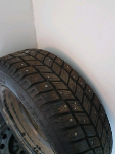 Studded winters 4 bolt with rims