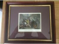 The Murder of Wat Tyler, Framed Print