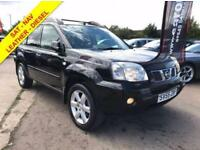 2005 NISSAN X-TRAIL T-SPEC DCI DIESEL SAT-NAV FULL LEATHER INTERIOR LONG MOT