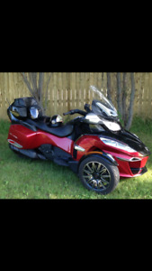 2015 CAN AM SPYDER RTS    $ 25,500