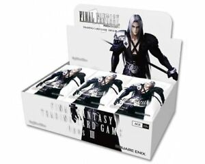 Final Fantasy OPUS 3 Booster Boxes Now Available @ Breakaway