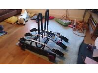 Thule 9403 towbar 3 bike cycle carrier & extras