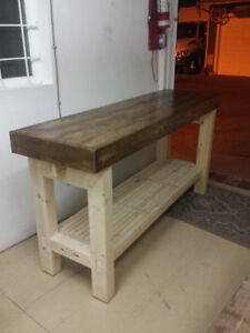 Handcrafted Workbench