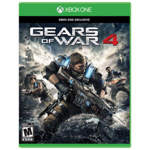 Gears of War 4 and Dead Rising 4 for Xbox one