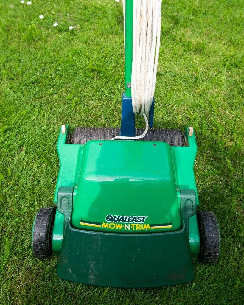 Lawnmower Qualcast Mow N Trim Lightweight Electric Mower