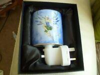 Old Tupton fairy night light - BNIB - ceramics