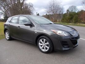 2010 10 MAZDA 3 1.6 TS2 5 DOOR HATCHBACK PETROL METALLIC GREY