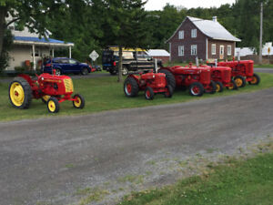 Tracteurs antiques