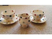 Emma Bridgewater Polka Large Tea Cup and Saucer