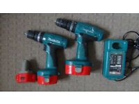 Makita combo kit ,screw driver /impact and drill