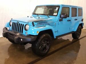 2017 Jeep WRANGLER UNLIMITED Sahara Winter +2 Toits, Navigation,